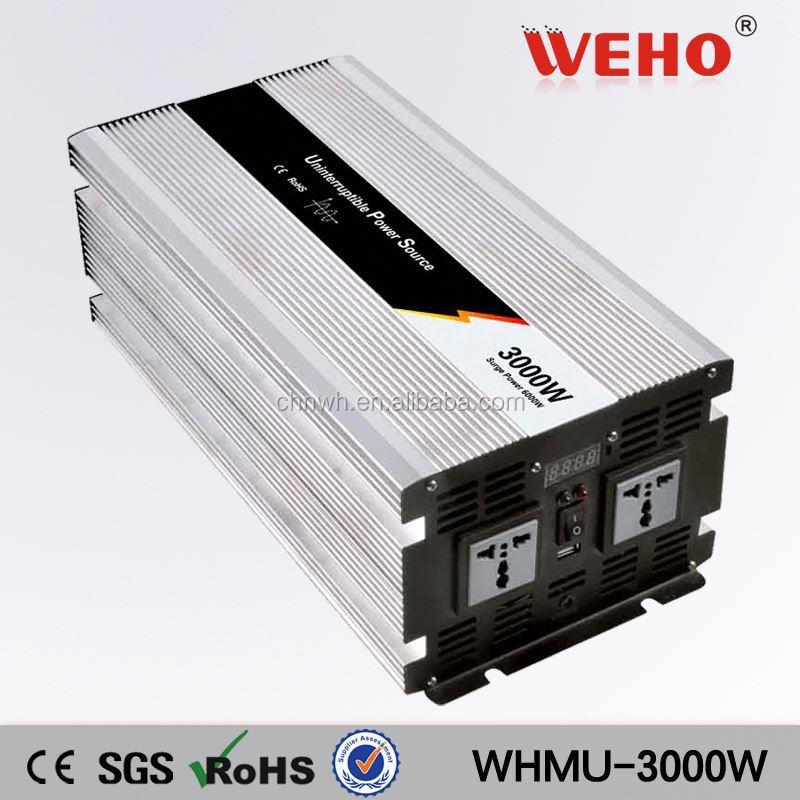 Energy exchanging 3000w 12v 220v offline ups inverter with charger