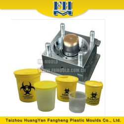 injection mould plastic 20liter water bucket and paint bucket mould manufacturer
