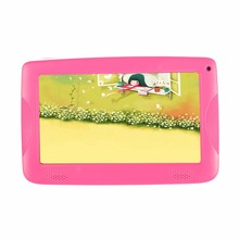 Christmas gift Hot selling lovely 7 inch Quad Core Kids Tablet