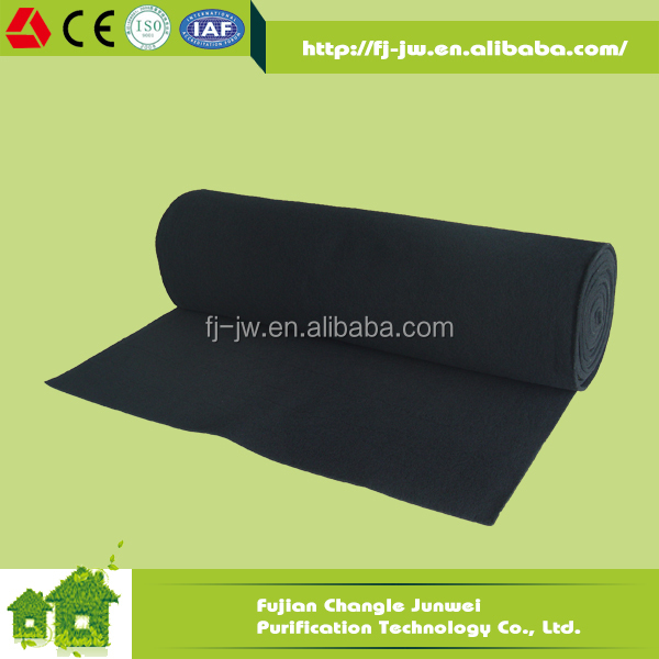 Black AC Carbon Fibric Activated Carbon Fiber Cloth