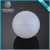 100mm hollow transparent plastic ball for water treatment