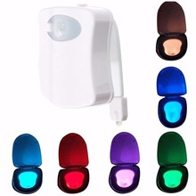 Motion sensor waterproof LED toilet night light indoor light for bathroom