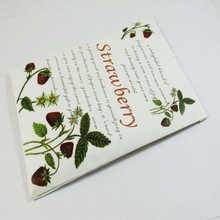 strawberry natural home fragrance air freshener for Car garderobe scent sachets