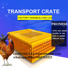 High Quality 77*55*27cm Plastic Chicken Transport Crate for Animal Transportation