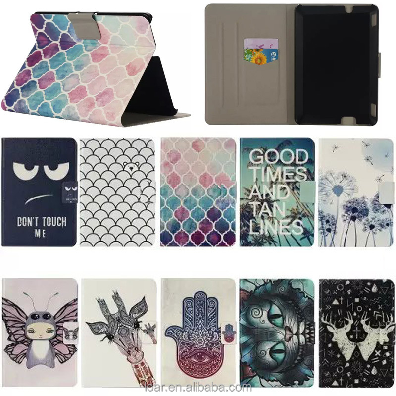 Printed Fashion Pattern Cover For Amazon Kindle Fire HDX7 HDX 7 Flip Leather Stand Case