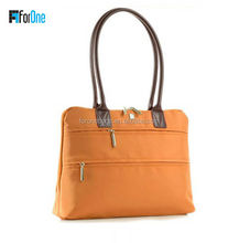 New style latest fashion handbag nylon ladies laptop bag for women