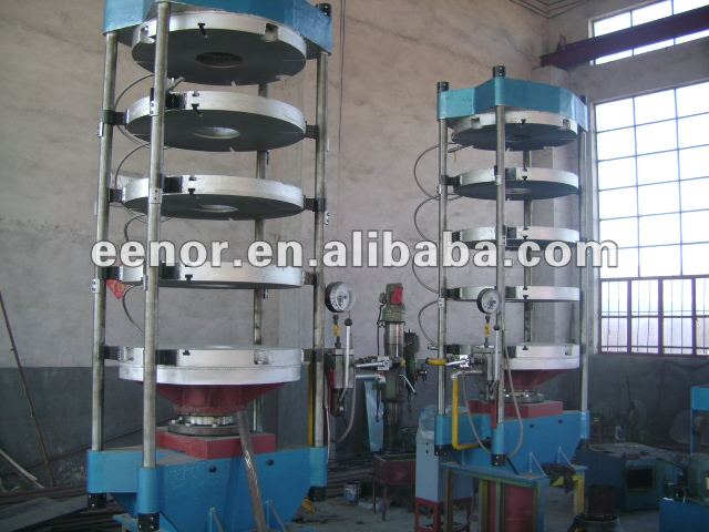 multi- layers motorcycle Tyre making machine/rubber curing press