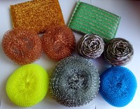Kitchen Sponge& scouring pads cleaning galvanized scourer