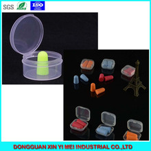 31*31*17mm Small Contanier for 2 pairs Soft Foam Ear Plugs