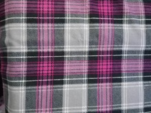 Soft Touch 100% Cotton Yarn Dyed Brushed Check Shirt Flannel Fabric