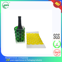 Champagne beer bottle cover plastic PVC wine ice holder pouch bag