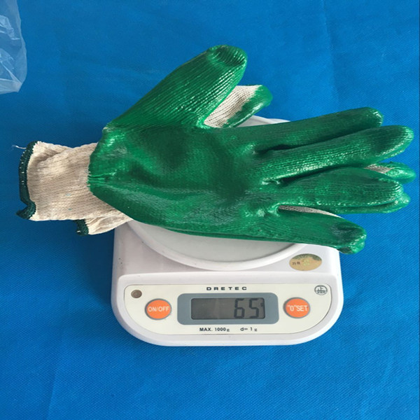 latex coated glove with cheap price