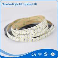 2015 Hot sale smd 3528 Nonwaterproof IP20 Warm White 240LED UL certificate warm white addressable led strip