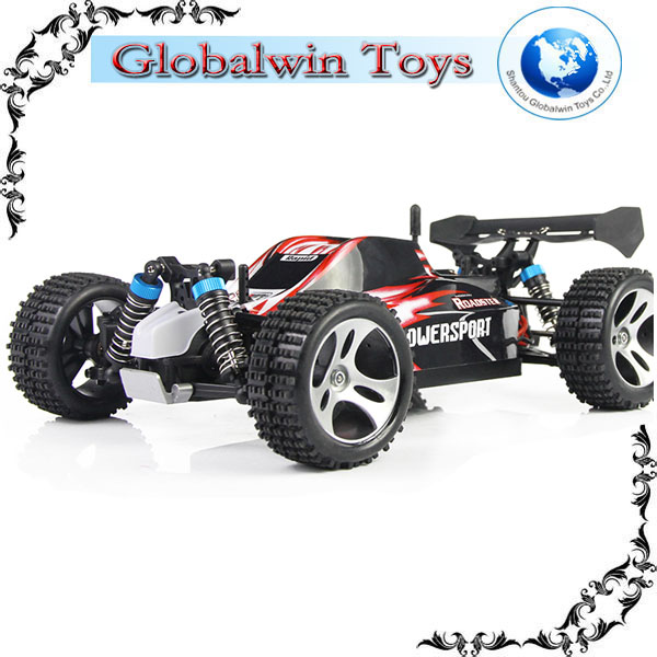 2014 OFF-ROAD CAR !! WLtoys A959 1:18 2.4G 50KM/H SUV High Racing Car cross country rc trucks rc truggy sale
