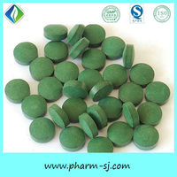 Excellent Quality Health Care Herbal Supplements OEM Spirulina Tablet Product GMP Certified Manufacturer