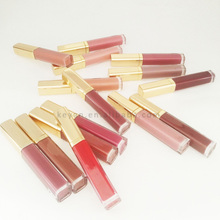 customose your logo color caresse wet matte lip stain with lip-gloss luster