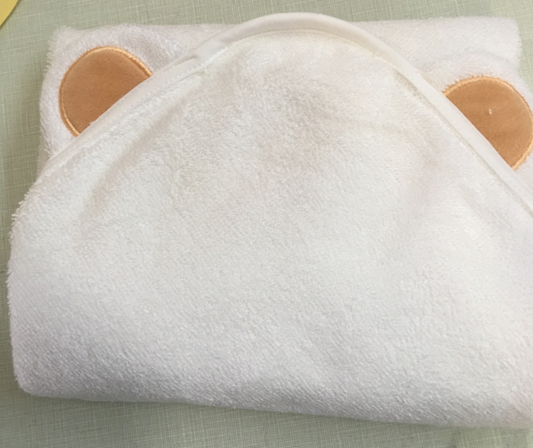 stock wholesale baby hooded towel, hooded baby towel bamboo organic