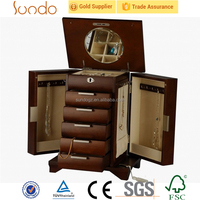 exquisite Christmas gift packaging jewelry safe boxes