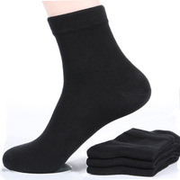 Hot sale Antibacterial deodorization 100% Organic warm cotton sock Iong Bulk men cotton socks