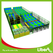 TUV Test CE Approved USA designed Custoiz Foam Pit Large indoor Jumping Trampoline Arena