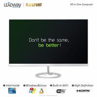 BareBone All in one PC 23.8inch Frameless LED Intel Braswell J3160 for office home Vanguard Series