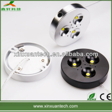 Good quality aluminum led inside cabinet lighting 3w with epistar chips