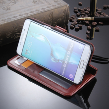 2016 Hot Sale New Model Wallet Case For Samsung Galaxy S6 Edge Plus
