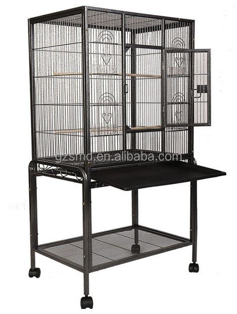 Guangzhou metal large bird cage /bird aviary for sale