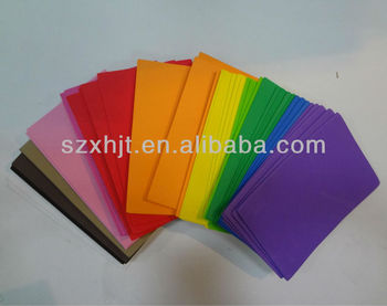 EVA craft foam sheet with different colors