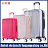 colorfui abs luggage travel bags abs+pc trolley luggage printing cabin luggage