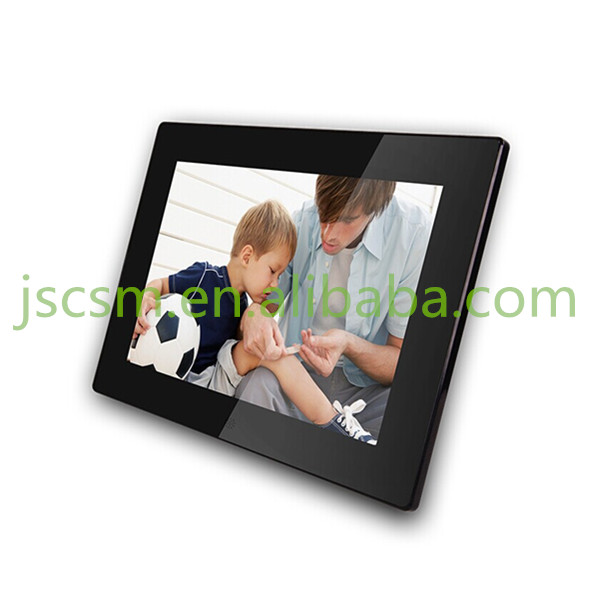 love photo frame digital 10.1 inch blue film photos support customized