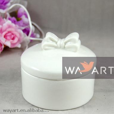 White Porcelain Jewellery Box