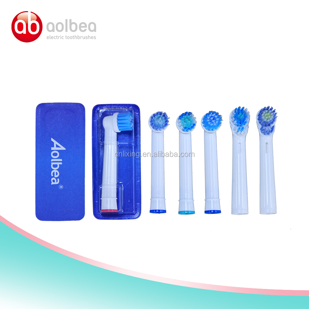 Soft brush cleaner compatible with oral b braun electric replaceable toothbrush head