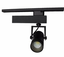 Adjustable Lens From 10 To 70 Degree 3 Circuits Commercial Lighting 35W COB LED Track Light