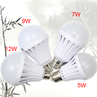 2016 New emergency led lamp battery back-up 7w 9w 12w rechargeable emergency lights E27/B22 led emergency bulb