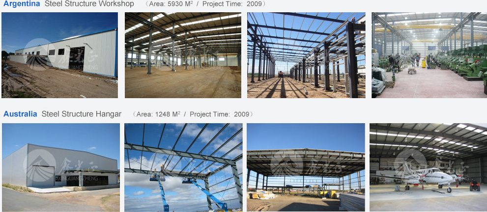 CE certification low cost oversea structure steel fabrication price in china steel structure XGZ- Group