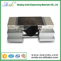 copper concrete expansion joint of floor covering