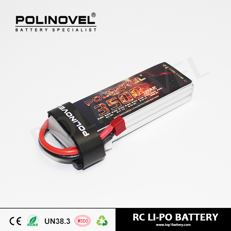 RC model hobby 22.2V 3500mah 25C lithium polymer battery