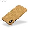 Phone Accessories Mobile Phone Cover For Iphone 6 7 8 Plus Cork Case For Samsung S8 wooden mobile cover