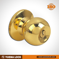 587 stainless steel / Cylindrical / Entrance Round Knob Door Lock