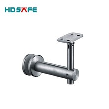 Alibaba supply stainless steel handrail accessories to tube bracket for handrail made in China