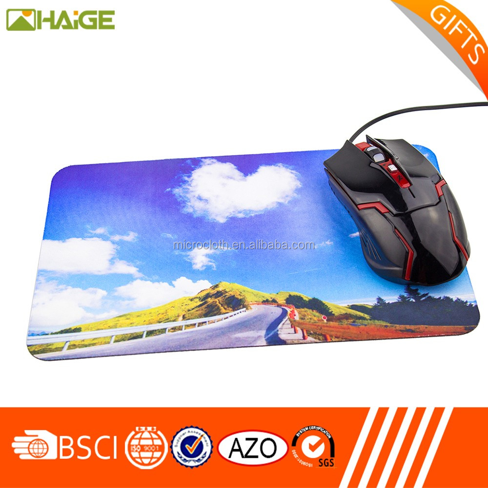 Specilized school mouse mat/gaming mouse pad with logo print