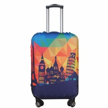 Luckiplus Spandex Luggage Cover Stretchy Suitcase Cover