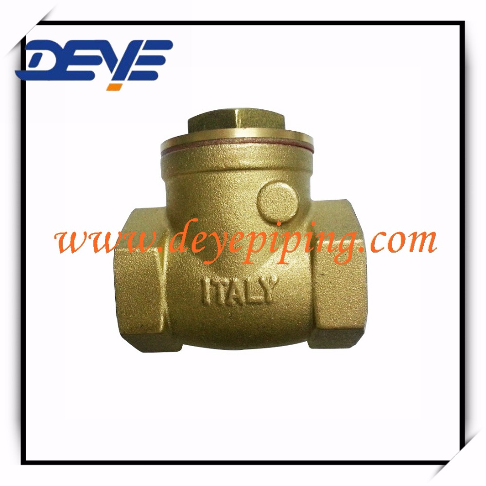 2000WOG Swing type Brass Valves check with Rubber Seal