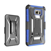 Heavy Duty Hybrid Armor X patern Kickstand Belt Clip Holster Combo Rugged Case for Samsung Galaxy Note 5