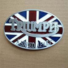 Custom Design England Flag Smooth Pin Belt Buckle