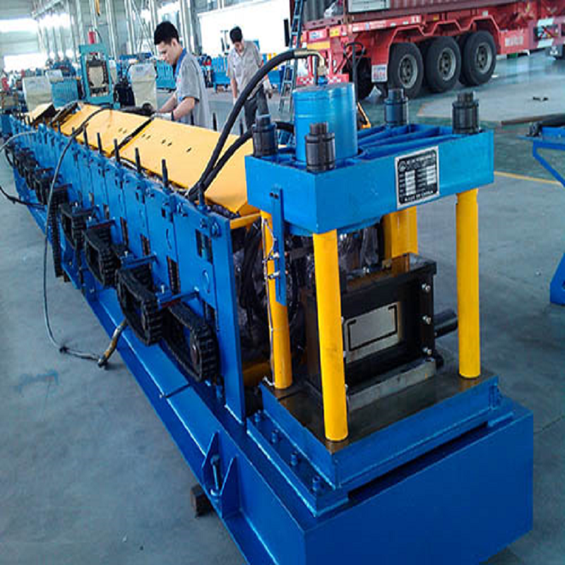 Automatic Hydraulic C purlin Cold Roll Forming Line