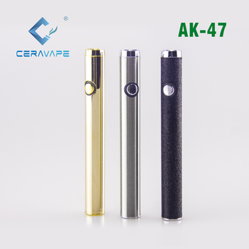 2019 CeraVape Top Selling Products Slim 510 Preheat Variable Voltage Vape Pen Battery 350mAh
