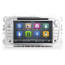"7"" Wince 6.0 Car DVD For Ford Mondeo Focus S-Max C-Max Galaxy Kuga 2007 2008 2009 2010 2011 GPS radio navigation with 3G 1080P"