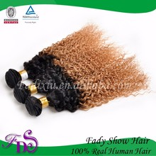 100 human hair product Cheap daring hair Factory price 100 peruvian hair jerry curl ombre